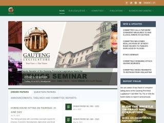 Screenshot for gpl.gov.za