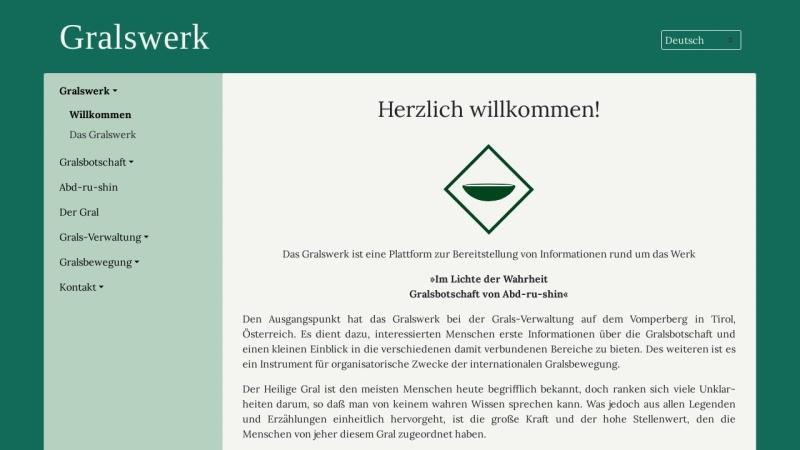 www.gralswerk.org Vorschau, Gralswerk