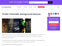Thriller Cinematic background textures