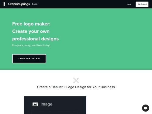 GraphicSprings.com - Free Online Logo Design Tool to Create and Make Professional Logos
