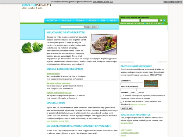http://www.gratisrecept.nl