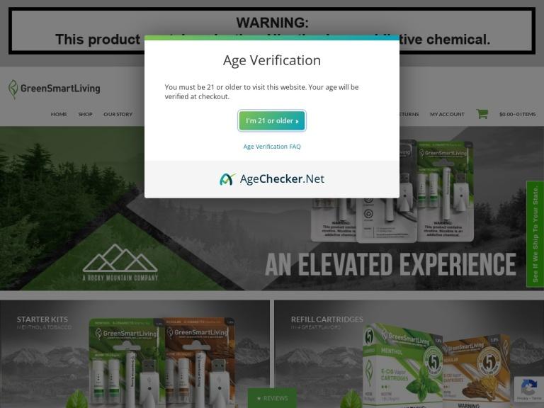 Greensmartliving screenshot