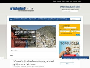 Online Reise- und Griechenland-Portal.
