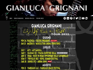 screenshot grignani.it
