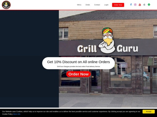 Barbecue Restaurants Near Me   BBQ Food Near Me   Grill Guru   Food Delivery Services Glasgow