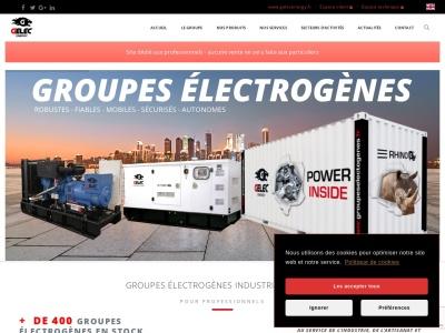 GELEC - Groupe électrogène