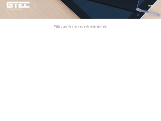 Captura de pantalla para gtec.com.ec