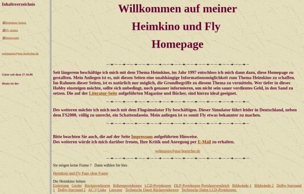 Vorschau von www.gue-boettcher.de, GB Heimkino