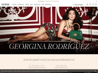 Foto ekrani për guess.com