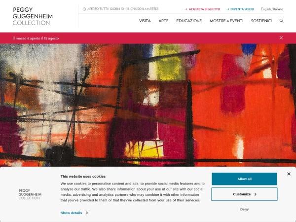 Peggy Guggenheim collection è un museo di arte contemporanea nella città di Venezia