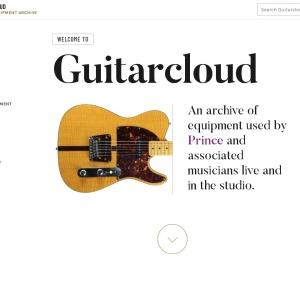Guitarcloud - Prince Equipment Archive
