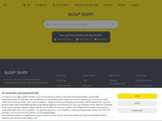 Screenshot for gulesider.no