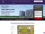 Gulshan Bellina Noida Master Layout