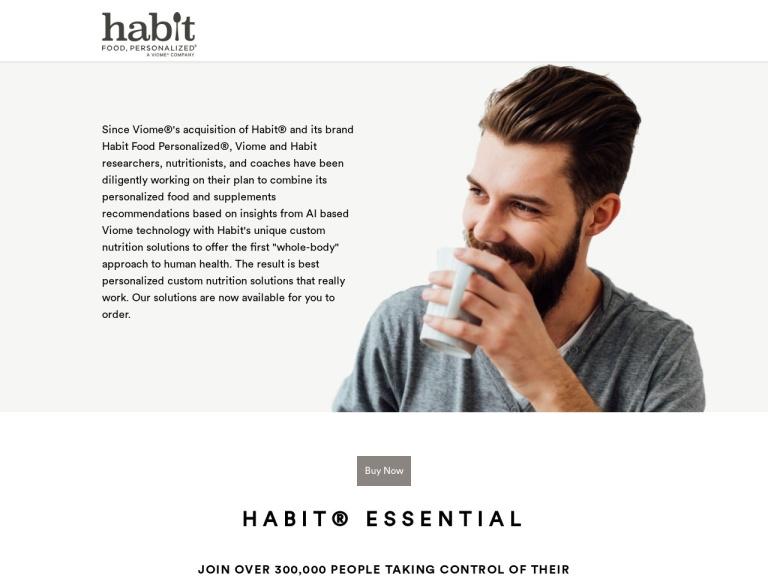 Habit Food, Personalized screenshot