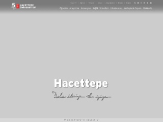 hacettepe.edu.tr için Ekran Görüntüsü