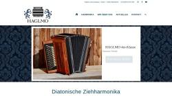 www.haglmo-harmonika.de Vorschau, Haglmo Diatonische Ziehharmonikas