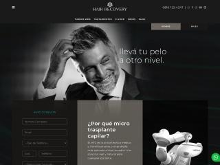 Captura de pantalla para hairrecovery.com.ar