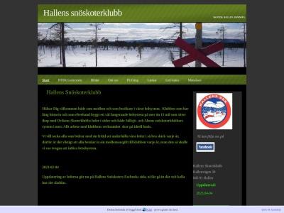 www.hallenssnoskoterklubb.n.nu