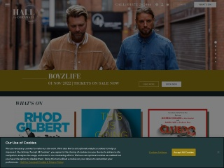 Screenshot for hallforcornwall.co.uk