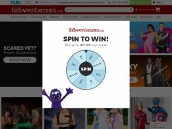 HalloweenCostumes.com screenshot
