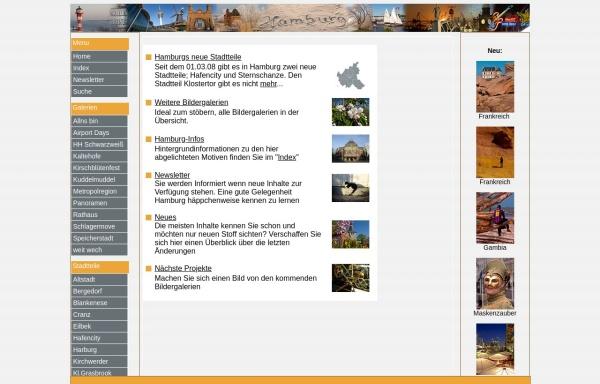 Vorschau von www.hamburgs-stadtteile.de, Hamburg in Bildern