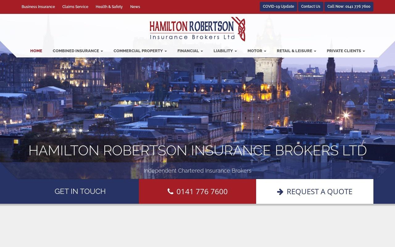 Preview of http://www.hamiltonrobertson.co.uk
