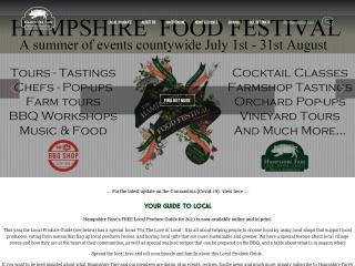 Screenshot for hampshirefare.co.uk