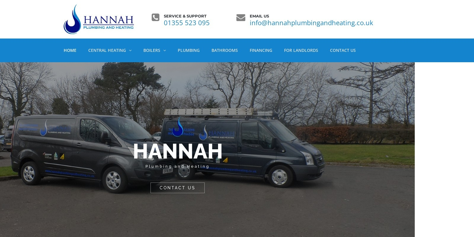 Preview of http://www.hannahplumbingandheating.co.uk