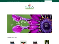 Hanna\\\'s Herb Shop Fast Coupon & Promo Codes
