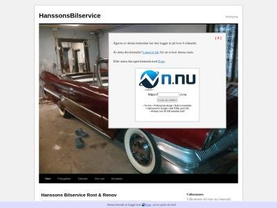 www.hanssonsbilservice.n.nu