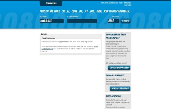 Vorschau von www.happymoments.ch, Schlittler, Patrik