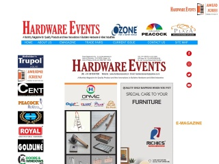 Screenshot for hardwareevents.in