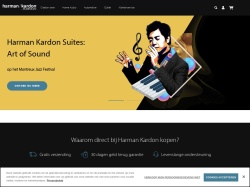 Harmankardon.nl screenshot