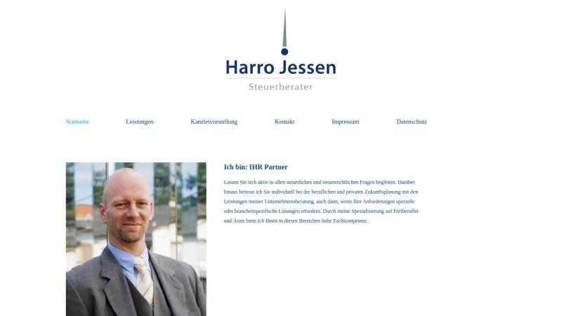 www.harro-jessen.de Vorschau, Steuerberater Harro Jessen