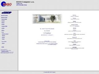 Snímek stránek pro haso.cz