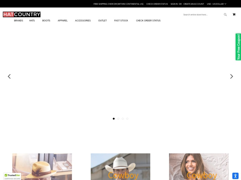 Hat Country LLC Coupon Codes