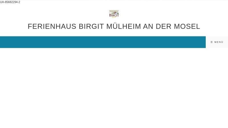 www.haus-birgit.com Vorschau, Urlaubsdomizil Ferienhaus Birgit in Mülheim an der Mosel