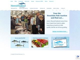 Screenshot for hawaii-seafood.org