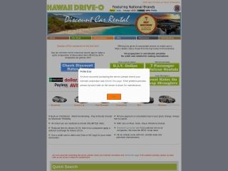 Screenshot for hawaiidrive-o.com