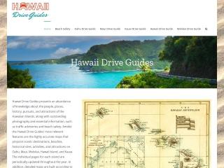 Screenshot for hawaiidriveguides.com