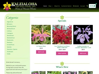 Screenshot for hawaiiorchidlady.com