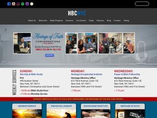 Screenshot for hbcnyc.org