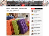 Which Foam Type Is Healthiest For Your Seat Cushions?