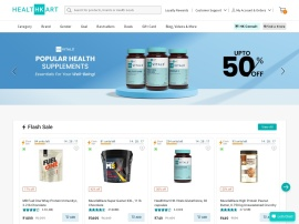 Online store Healthkart