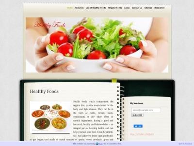 www.healthyfoods.n.nu
