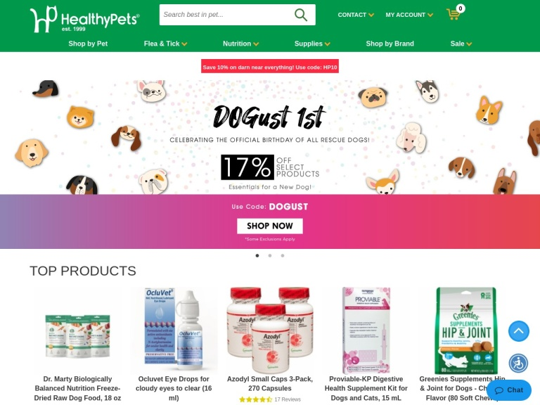 HealthyPets Coupon Codes