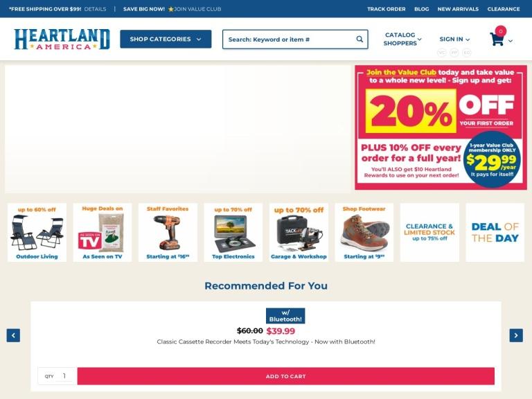Heartland America Coupon Codes & Promo codes
