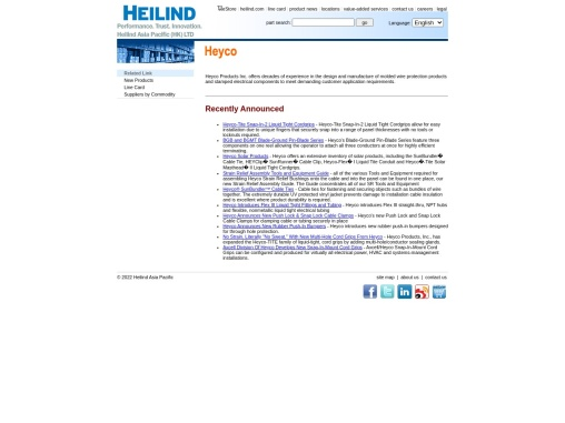 Heyco distributor  – Heyco Products Inc.