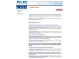 Molex Product Distributor – Second-largest manufacturer of connectors