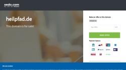 www.heilpfad.de Vorschau, Heilpfad